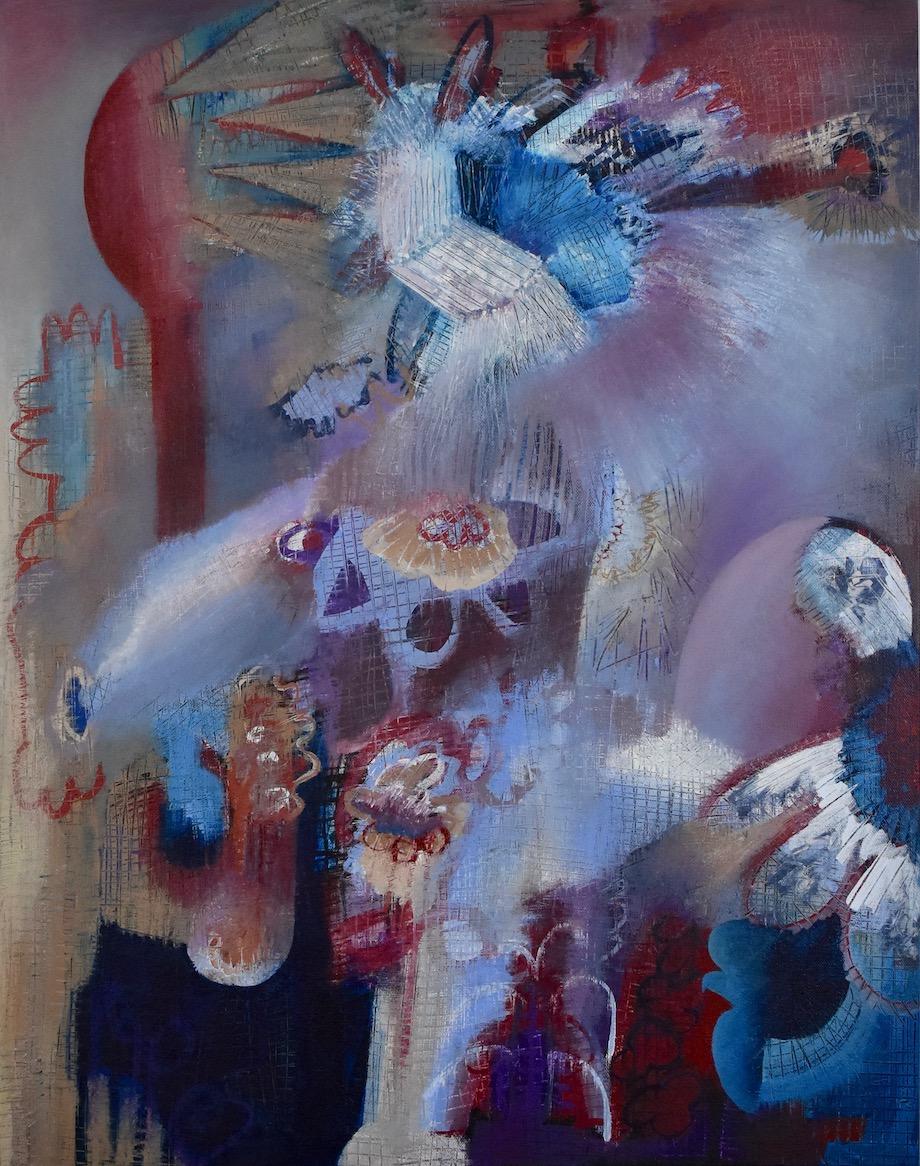 "Brian Sholdt | Down On The Farm (sold) | Acrylic on Canvas | 22""x 28"" | 2019"