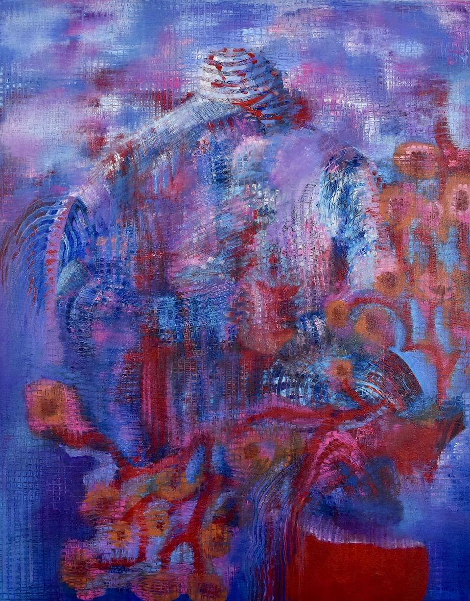 "Brian Sholdt | Sanctuary | Acrylic on Canvas | 22x 28"" | 2019"